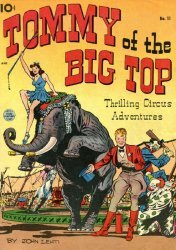 King Features Comics's Tommy of the Big Top Issue # 11
