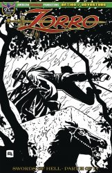 American Mythology's Zorro: Swords of Hell Issue # 2c