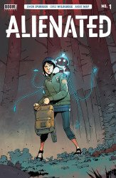 BOOM! Studios's Alienated Issue # 1b