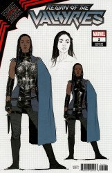 Marvel Comics's King in Black: Return of the Valkyries Issue # 1h
