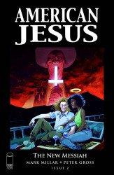 Image Comics's American Jesus: The New Messiah Issue # 2b