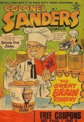 Comic Page Features's Colonel Sanders Comics Issue # 1