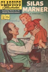 Gilberton Publications's Classics Illustrated #55: Silas Marner Issue # 1k