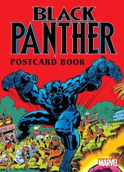 Marvel Comics's Black Panther Postcard Book Hard Cover # 1