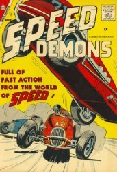 Charlton Comics's Speed Demons Issue # 10