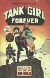 Titan Comics's Tank Girl: Forever Issue # 3