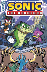 IDW Publishing's Sonic the Hedgehog Issue # 17b