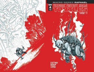 IDW Publishing's Teenage Mutant Ninja Turtles: Macro-Series - Raphael Issue # 1b