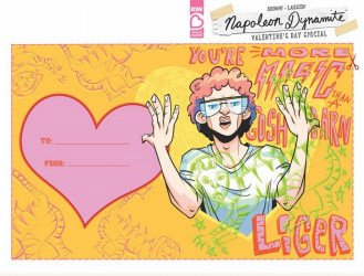 IDW Publishing's Napoleon Dynamite: Valentine's Day Special Issue # 1c