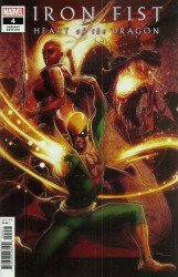 Marvel Comics's Iron Fist: Heart of the Dragon Issue # 4b