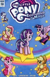 IDW Publishing's My Little Pony: Friendship is Magic Issue # 56ri