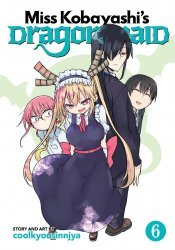 Seven Seas Entertainment's Miss Kobayashi's Dragon Maid Soft Cover # 6