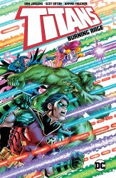 DC Comics's Titans: Burning Rage TPB # 1