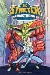 IDW Publishing's Stretch Armstrong and The Flex Fighters TPB # 1