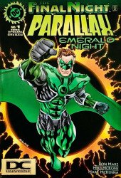 DC Comics's Parallax: Emerald Night Issue # 1b