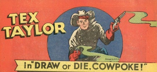 Vital Publications's Tex Taylor: Draw or Die, Cowpoke! Issue nn