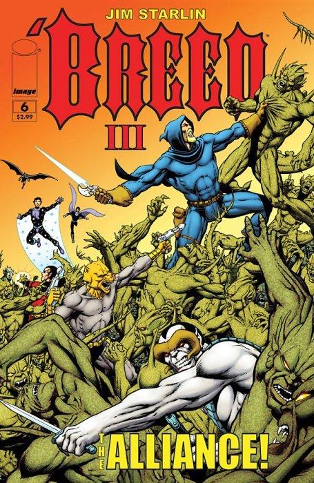 BREED III # 1 2011-8.5 COMIC