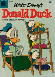 Dell Publishing Co.'s Donald Duck Issue # 56