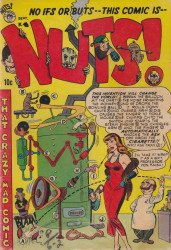 Premiere Comics Group's Nuts! Issue # 4
