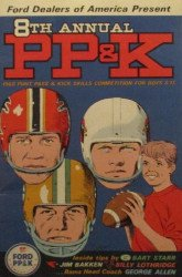 Warren Tufts's Ford / NFL: Punt, Pass & Kick Competition Issue # 8