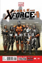 Marvel's Cable and X-Force Issue # 1