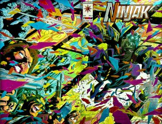 Valiant Entertainment's Ninjak Issue # 1c