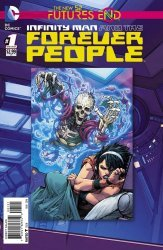 DC Comics's Infinity Man and The Forever People: Futures End Issue # 1b