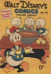 W.G.(Wogan)Publications's Walt Disney's Comics Issue # 76