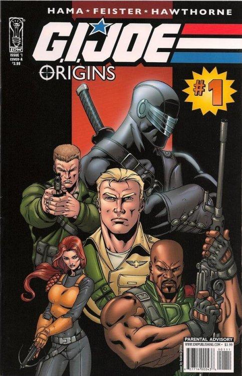 IDW Publishings GI Joe Origins Issue 1