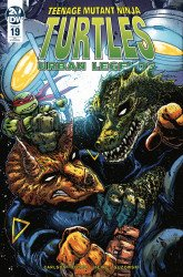 IDW Publishing's Teenage Mutant Ninja Turtles: Urban Legends Issue # 19ri