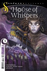 Vertigo's House of Whispers Issue # 3