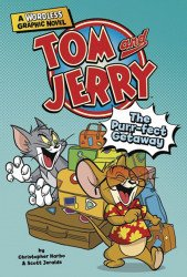 Capstone Press's Tom And Jerry: A Wordless Graphic Novel - Purr-Fect Getaway  TPB # 1