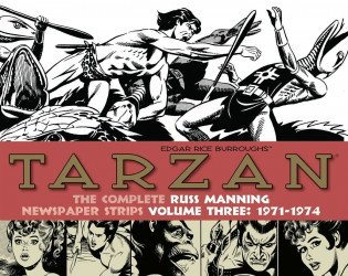 IDW Publishing's Tarzan: The Complete Russ Manning Newspaper Strips Hard Cover # 3