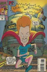 Marvel Comics's Beavis and Butthead Issue # 8