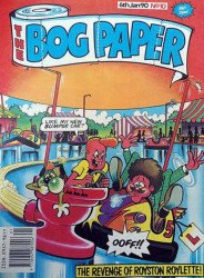 Marvel UK's The Bog Paper Issue # 10