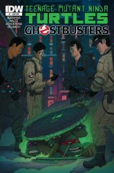 IDW Publishing's Teenage Mutant Ninja Turtles/Ghostbusters Issue # 1sub