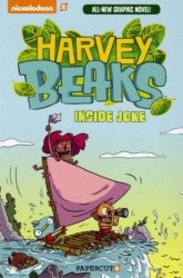 Papercutz's Harvey Beaks Soft Cover # 1