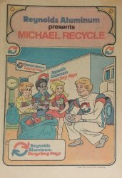 Reynolds Metal Company's Reynolds Aluminum Presents: Michael Recycle Issue nn