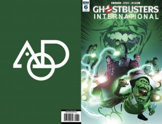 IDW Publishing's Ghostbusters: International Issue # 6aod