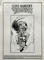 Epic Comics's Clive Barker's Harrowers Issue preview