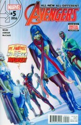 Marvel's All-New All-Different Avengers Issue # 5