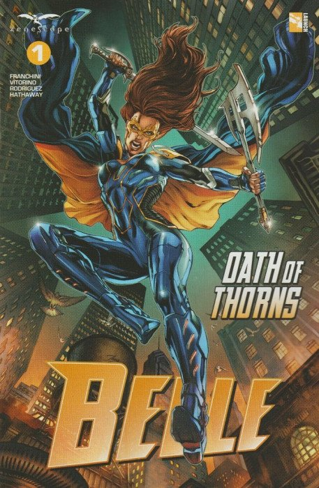 Grimm Fairy Tales Presents: Belle Oath of Thorns Issue # 1d