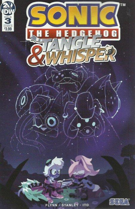 Sonic The Hedgehog Tangle Whisper 3b Idw Publishing Comicbookrealm Com