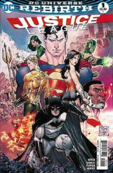 DC Comics's Justice League Issue # 1d