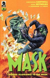 Dark Horse Comics's The Mask: I Pledge Allegiance to the Mask Issue # 4b