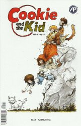 Antarctic Press's Cookie and the Kid Issue # 3