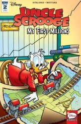 IDW Publishing's Uncle Scrooge: My First Millions Issue # 2ri