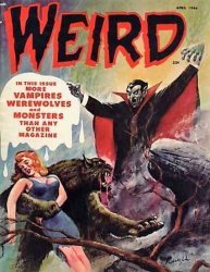 Eerie Publications's Weird Magazine Issue # 11