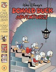 Gladstone's Carl Barks Library of Walt Disney's Donald Duck Adventures in Color Issue # 8