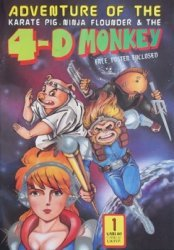 Leung's Publications's The 4-D Monkey Issue # 1